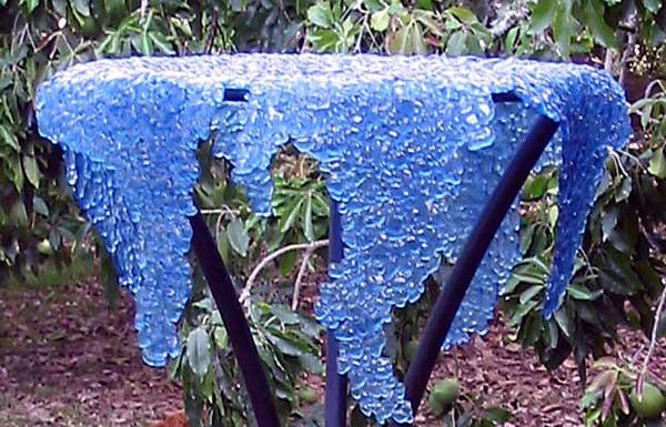 Dermot Kelly: Blue Wisteria (close-up)
